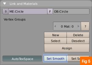 MAterial settings blender