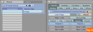 Adding image texture in blender