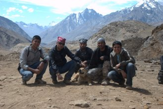 Sheandi with nomads