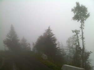 Chamba In Thick Fog