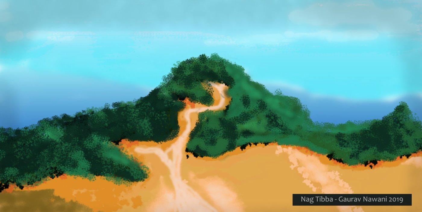 Outer view of Nag Tibba Trek